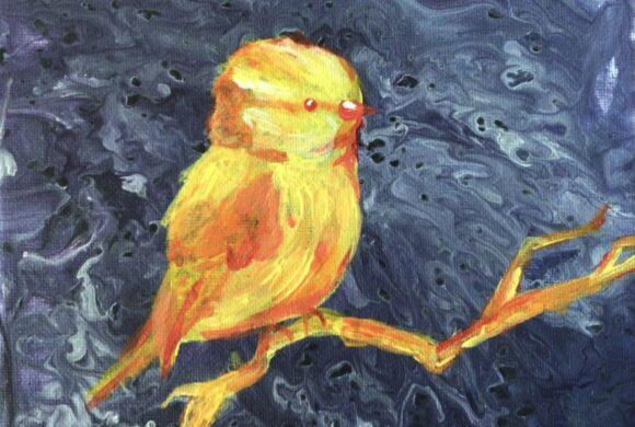 """«Pour faire le portrait d'un oiseau» (""""Wie man das Portrait eines Vogels malt"""")"""