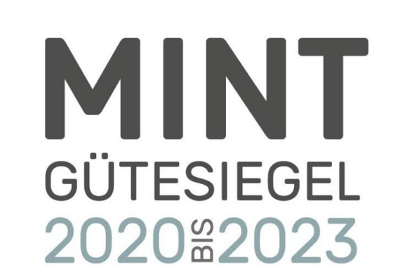 MINT-Gütesiegel 2020-2023