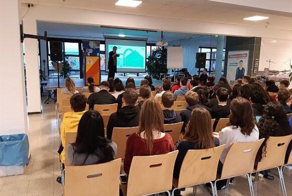 EU-Vortrag im GRG 21 Ödenburger Straße: Europa- #wasistjetzt